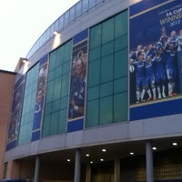 Photo taken at Stamford Bridge by Taylor A. on 3/18/2013