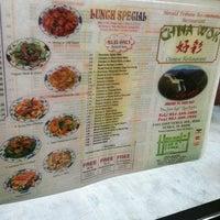 Photo taken at Chinas Wok by Angela L. on 1/20/2013