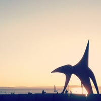 Photo taken at Olympic Sculpture Park by Christian M. on 10/6/2012