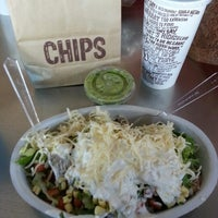 Photo taken at Chipotle Mexican Grill by Audrey W. on 12/28/2012