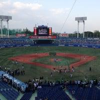 Photo taken at Meiji Jingu Stadium by Kei Relampago K. on 5/6/2013