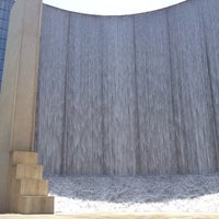 Photo taken at Gerald D. Hines Waterwall Park by Franco T. on 6/28/2013