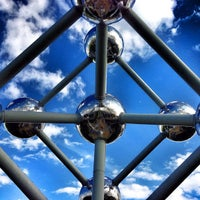 Photo taken at Atomium by Sergio S. on 6/16/2013