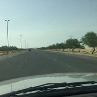 Photo taken at الخط السريع الملك فهد by Adam A. on 5/27/2016
