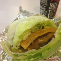 Photo taken at MOOYAH Burgers, Fries & Shakes by Lyn H. on 1/26/2013