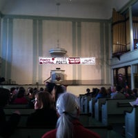 Photo taken at First Universalist Society of Salem by Janet E. on 5/5/2013