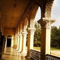 Photo taken at Chowmahala Palace by Rinald D. on 3/6/2014