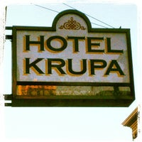 Photo taken at Krupa Hotel by William T. on 10/18/2012