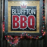 Photo taken at Bluffton BBQ by Rob S. on 3/17/2013