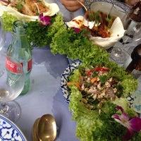 Photo taken at Sukhothai by Victoria C. on 7/27/2015