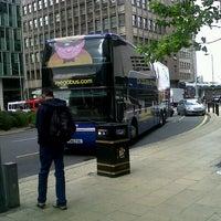 Photo taken at Megabus Birmingham City Centre Stop SH8 & SH9 by Fareez F. on 9/14/2012