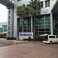 Photo taken at PT. Televisi Transformasi Indonesia (Trans TV & TRANS7) by Gitoatm on 3/8/2016