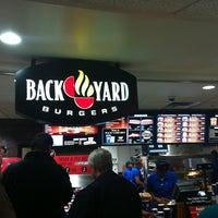 Photo taken at Back Yard Burgers by Jason G. on 11/12/2012