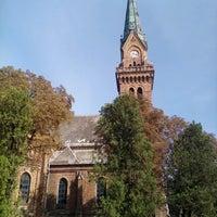 Photo taken at Evangélikus újtemplom by Kispál R. on 9/11/2016