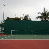Photo taken at Court Tenis MPHTJ by Mohd M. on 1/24/2014