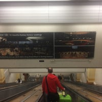 Photo taken at Wynyard Station (Main Concourse) by Dion D. on 10/9/2015