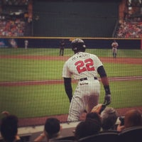 Photo taken at The Braves Chop House by Mac C. on 5/19/2013
