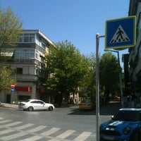 Photo taken at İstasyon Caddesi by Coco P. on 4/26/2013