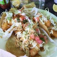 Photo taken at Tacos Baja Ensenada by Rene A. on 4/8/2015
