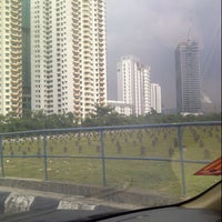 Photo taken at Tanah Perkuburan Islam Bukit Kiara by muhammad n. on 4/13/2013
