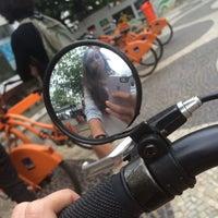 Photo taken at BikeRio - Estação 04 by Anna S. on 7/27/2015