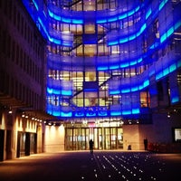 Photo taken at BBC Broadcasting House by Gwyn C. on 2/26/2013