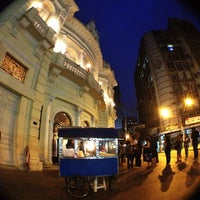 Photo taken at Teatro Carlos Gomes by Gabriel L. on 11/1/2012