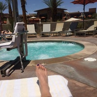 Photo taken at Westin Desert Willow Pool by Bobbi B. on 5/8/2014