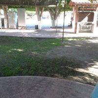 Photo taken at Balneario la Cruz by Nayeli R. on 2/8/2014