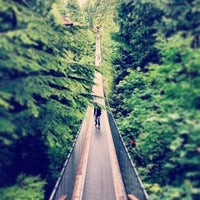 Photo taken at Capilano Suspension Bridge by Will A. on 6/26/2013