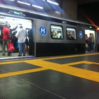 Photo taken at MetrôRio - Estação Uruguaiana by Daniel G. on 11/19/2012