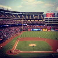 Photo taken at Globe Life Park in Arlington by Dave S. on 9/14/2013