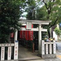 Photo taken at 大松稲荷神社 by Sean.T on 7/3/2016