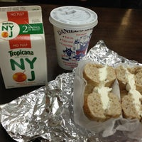 Photo taken at Daniel's Bagels by Laura B. on 2/15/2013