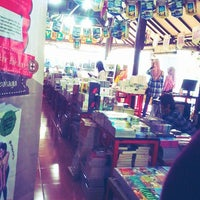 Photo taken at Togamas Bookstore by Halimatus S. on 2/8/2014