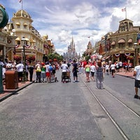 Photo taken at Main Street, U.S.A. by Josh M. on 7/14/2013