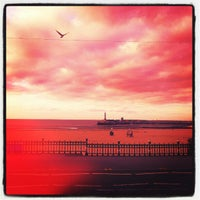 Photo taken at Margate Beach by Mark G. on 9/16/2012