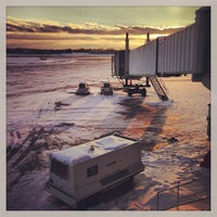 Photo taken at Syracuse Hancock International Airport (SYR) by Beau H. on 1/1/2013