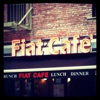Photo taken at Fiat Café by Bea V. on 10/25/2012