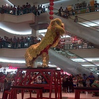 Photo taken at Mega Mall by Pricilia P. on 1/31/2014
