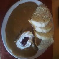 Photo taken at Restaurace U Bílého koníčka by Alžběta B. on 3/14/2014
