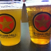 Photo taken at Starr Hill Brewery by Michael G. on 3/9/2013