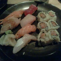 Photo taken at Sushi Roku by Brian V. on 7/30/2012