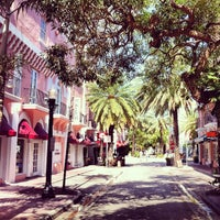 Photo taken at Espanola Way Village by El Paseo Hotel on 6/18/2013
