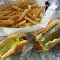 Photo taken at Jimmy's Hot Dogs by John S. on 6/4/2015