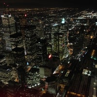 Photo taken at CN Tower by Joseph C. on 12/18/2012