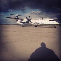 Photo taken at Billings Logan International Airport (BIL) by Brandon F. on 10/21/2013