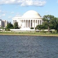 Photo taken at Thomas Jefferson Memorial by Eyal G. on 5/25/2013