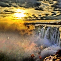 Photo taken at Niagara Falls (Canadian Side) by Judah C. on 11/26/2012