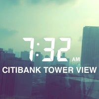 Photo taken at Citibank Tower by Vin on 4/13/2016